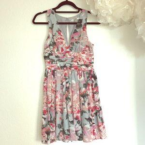 BB Dakota Floral Print Dress